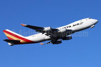 Kalitta Air (2nd) Boeing 747-4KZF N403KZ (msn 34018) ANC (Michael B. Ing). Image: 955411.