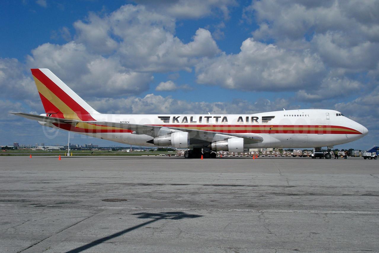 Kalitta Air (2nd) Boeing 747-2B4B (F) N713CK (msn 21099) YYZ (TMK Photography). Image: 912116.