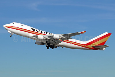 Kalitta Air (2nd) Boeing 747-4B5F N706CK (msn 27073) LAX (Michael B. Ing). Image: 940248.