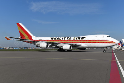 Kalitta Air (2nd) Boeing 747-4R7F N700CK (msn 25868) AMS (Ton Jochems). Image: 951695.