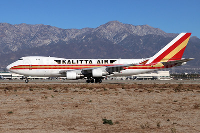 Kalitta Air (2nd) Boeing 747-4B5F N715SK (msn 32809) ONT (Michael B. Ing). Image: 952539.