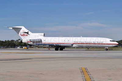 Kalitta Charters II-H.E. Tex Sutton Boeing 727-224 (F) WL N725CK (msn 22252) (First Class Equine Air Travel) BWI (Tony Storck). Image: 913745.
