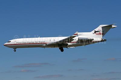 Kalitta Charters II-H.E. Tex Sutton Boeing 727-224 (F) WL N725CK (msn 22252) (First Class Equine Air Travel) BWI (Brian McDonough). Image: 913746.