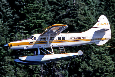 Kenmore Air de Havilland Canada DHC-3 Turbo Otter N707KA (msn 106) YCD (Robbie Shaw). Image: 901566.
