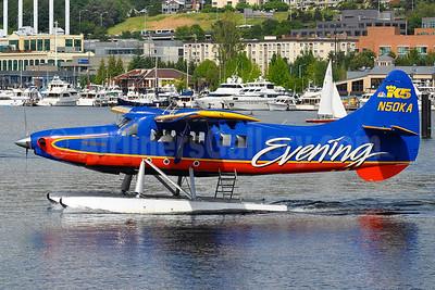 Kenmore Air de Havilland Canada DHC-3 Turbo Otter N50KA (msn 221) (K5 - Evening) LKE (Tony Storck). Image: 928073.