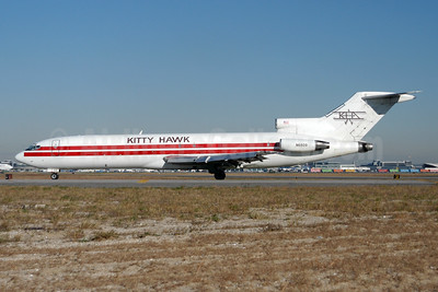 Kitty Hawk Airways-KHA Boeing 727-223 (F) N6809 (msn 19484) JFK (Fred Freketic). Image: 950041.