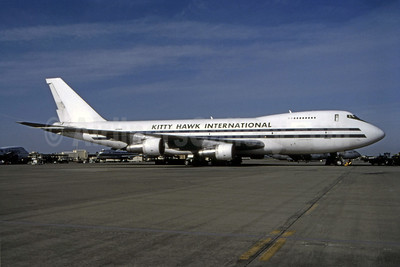 Kitty Hawk International (2nd) Boeing 747-2B4B (F) N710CK (msn 21097) SUU (Thomas Livesey). Image: 944854.