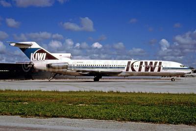 Kiwi International Air Lines Boeing 727-251 N264US (msn 19983) MIA (Bruce Drum). Image: 102499.