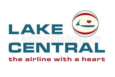 1. Lake Central Airlines logo