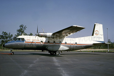 Lake Central Airlines Nord 262A-12 N26208 (msn  13) IND (Bo Goran Lundkvist - Bruce Drum Collection). Image: 100925.