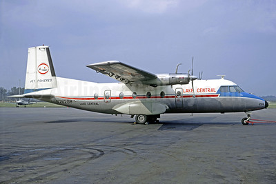 Lake Central Airlines Nord 262A-12 N26208 (msn  13) (Christian Volpati Collection). Image: 909266.