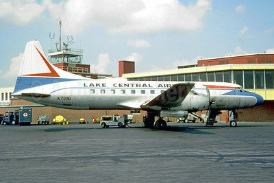 Lake Central Airlines Convair 340-31 N73151 (msn 169) (Jacques Guillem Collection). Image: 949896.