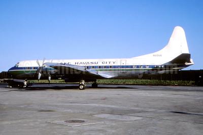 Lake Havasu City Lockheed 188A Electra N6106A (msn 1028) (Fernandez Imaging Collection). Image: 945940.