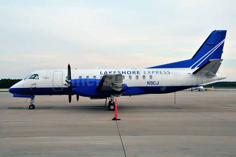 Lakeshore Express Aviation-Pentastar Aviation Charter SAAB 340B N9CJ (msn 224) RDU (Ken Petersen). Image: 912075.