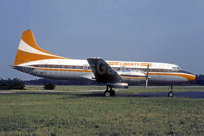 Liberty Airlines (Ohio) (USA) Convair 440-86 N234LA (N31KA) (msn 433) (Key Airlines colors) TOL (Christian Volpati Collection). Image: 941596.
