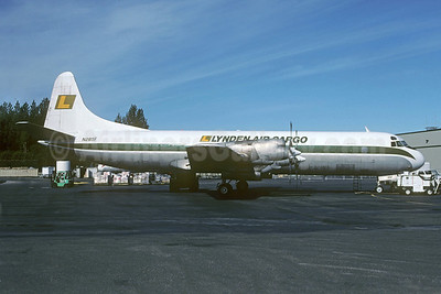 Lynden Air Cargo Lockheed 188A (F) Electra N285F (msn 1107) ANC (Christian Volpati Collection). Image: 922555.