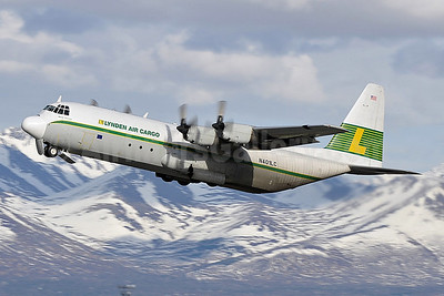Lynden Air Cargo Lockheed 382G-44K-30 (L-100-30) Hercules N401LC (msn 4606) ANC (Robbie Shaw). Image: 908594.