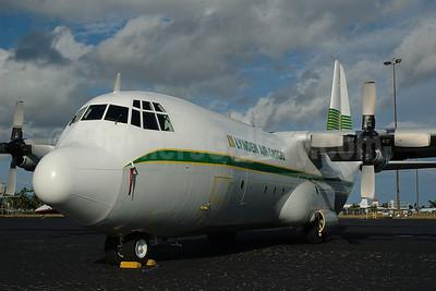 Lynden Air Cargo Lockheed 382G-44K-30 (L-100-30) Hercules N404LC (msn 4763) OPF (Bruce Drum). Image: 100459.