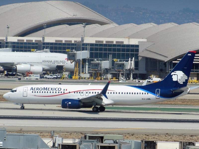 Aeroméxico (AM) XA-AML B737-852 [cn36707]