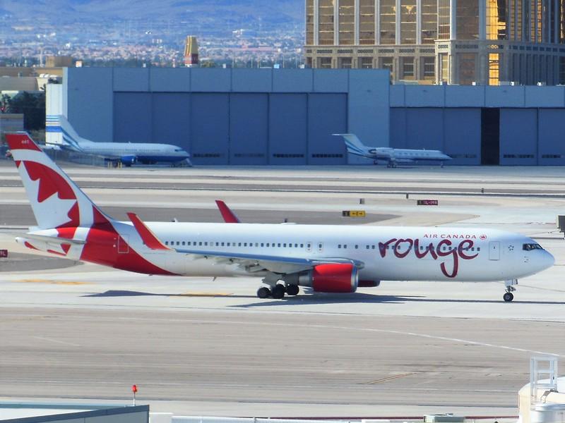 Air Canada Rouge (RV) C-GHLV B767-333 ER [cn30852]