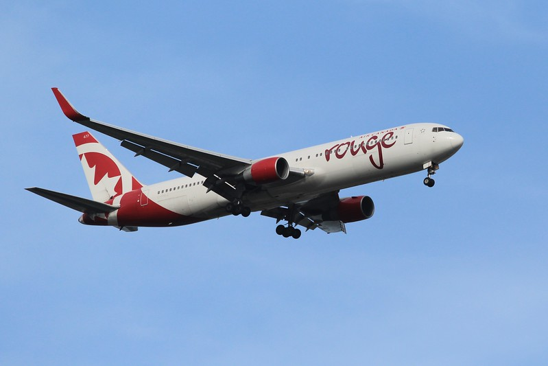 Air Canada Rouge (RV) C-FMLZ B767-316 ER [cn27597]