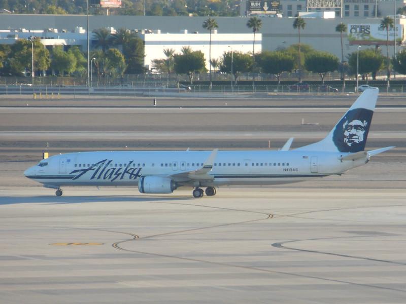 Alaska Airlines (AS) N419AS B737-990 ER [cn41734]