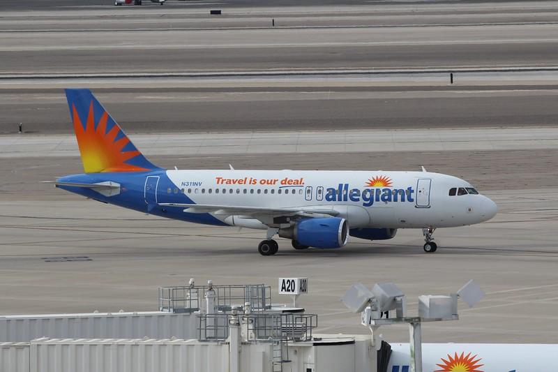 Allegiant Air (G4) N311NV A319-111 [cn2702]