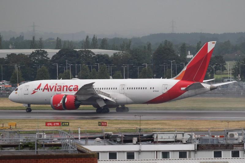 Avianca (AV) N781AV B787-8 [cn37503]