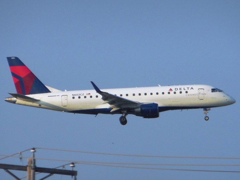 Delta Connection/Compass Airlines (DL/CP) N602CZ ERJ-175 LR [cn17000171]