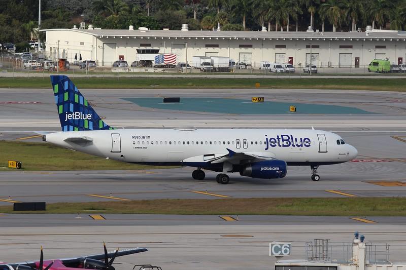 JetBlue Airways (B6) N583JB A322-232 [cn2150]
