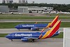 Southwest Airlines (WN) N484WN B737-7H4 [cn33841] & N8812Q B737-8MAX [cn42662]