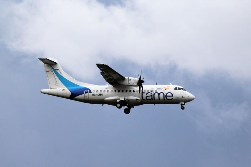 TAME Linea Aerea del Ecuador (EQ) HC-CMH ATR 42-500 [cn 854]