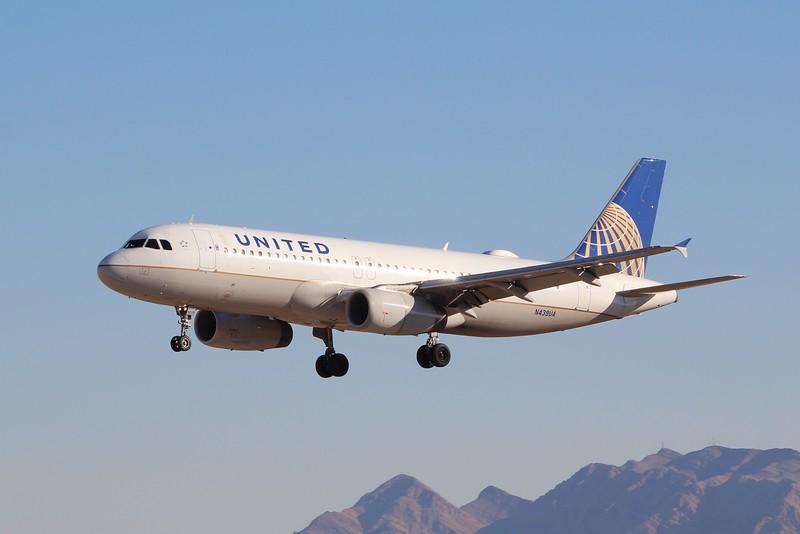 United Airlines (UA) N439UA A320-232 (cn683]