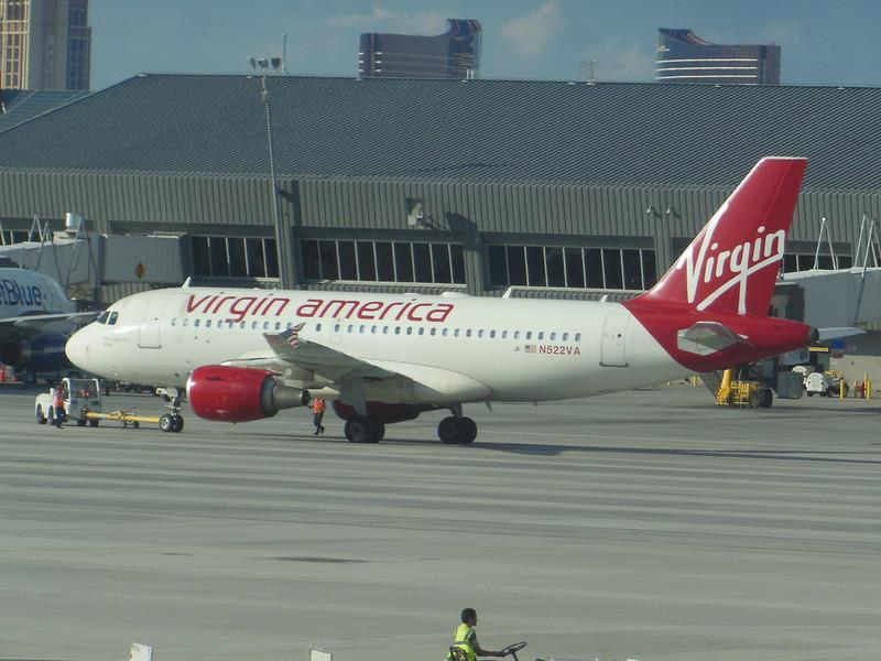 Virgin America (VX) N522VA A319-112 [cn2811]