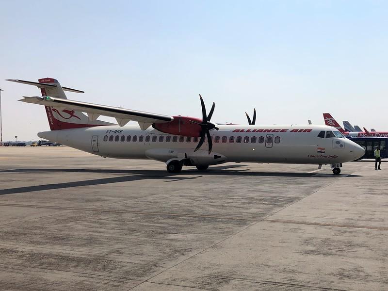 Alliance Air (9I) VT-RKE ATR 72-600 [cn1421]
