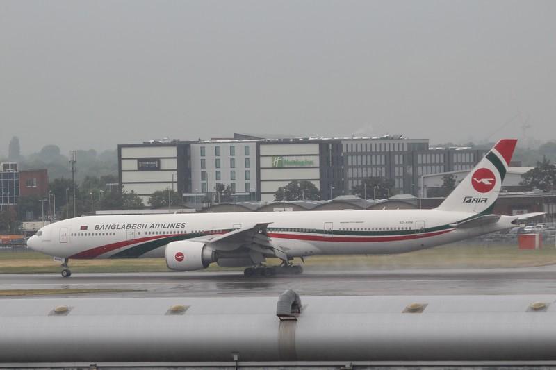 Bangladesh Biman Airlines (BG) S2-AHM B777-3E9 ER [cn40120]