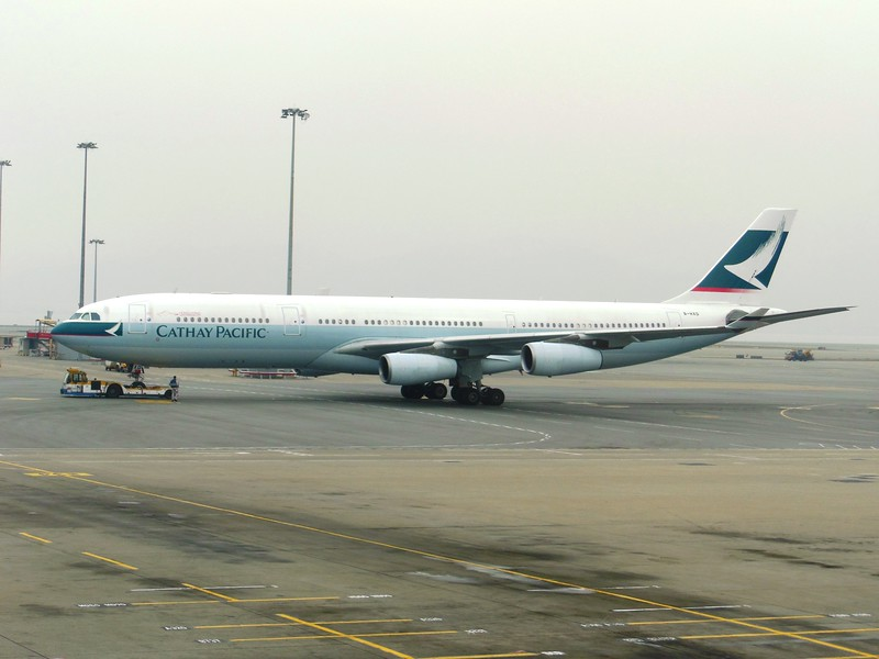 Cathay Pacific Airways (CX) B-HXD A340-313X [cn147]