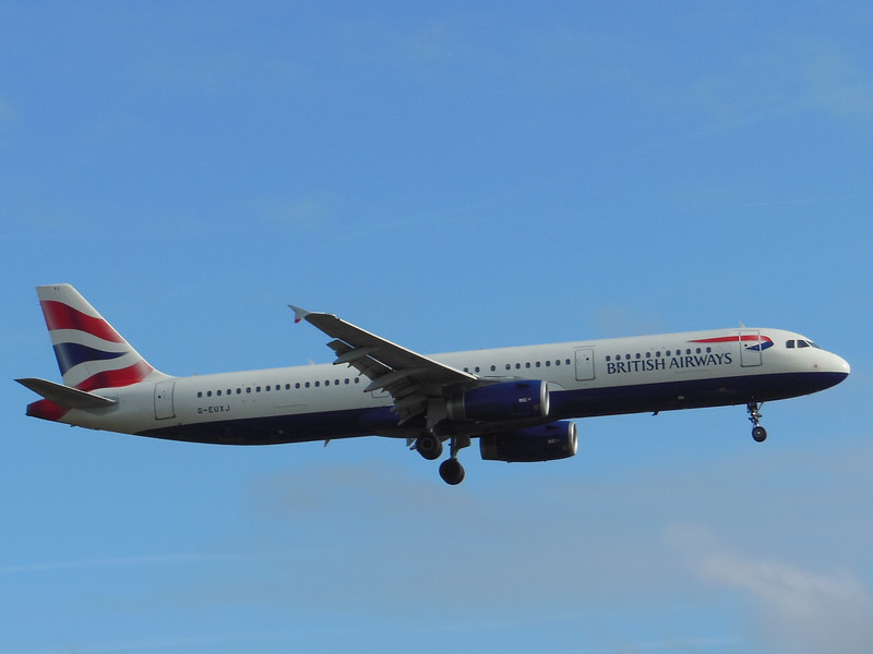 British Airways (BA) G-EUXJ A321-231 [cn3081]