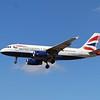 British Airways (BA) G-EUPK A319-131 [cn1236]