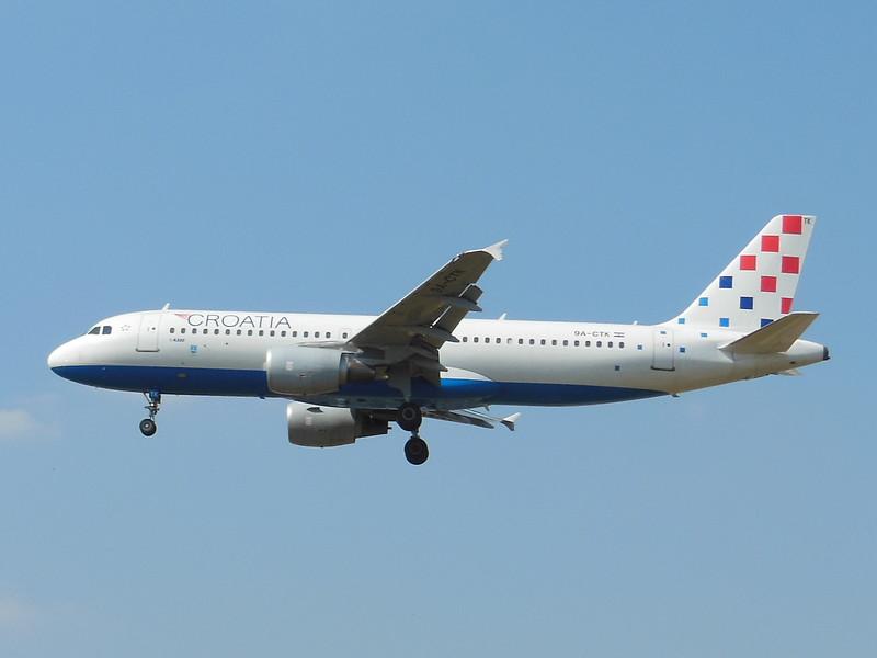 Croatia Airlines (OU) 9A-CTK A320-214 [cn1237]