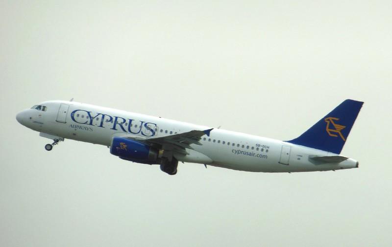 Cyprus Airways (CY) 5B-DCH A320-232 [cn2359]