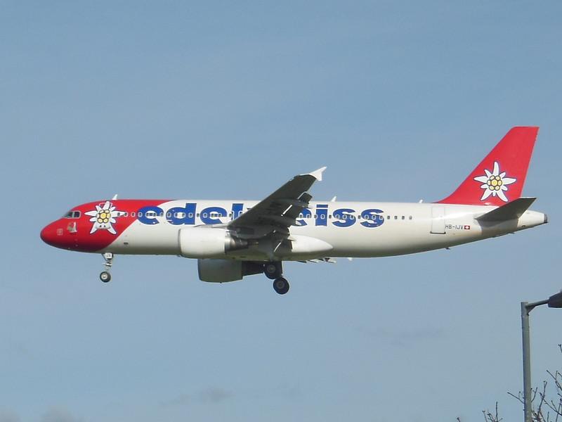 Edelweiss Air (WK) HB-IJV A320-214 [cn2024]