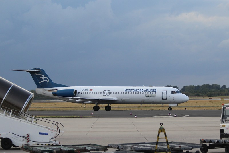 Montenegro Airlines (YM) 4O-AOM F28-100 / F100 [cn11321]