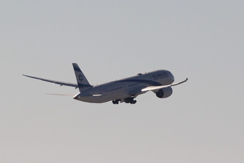 El Al Israel Airlines (LY) 4X-EDK B787-9 [cn63395]