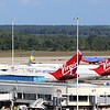 Three Virgin Atlantic Airways (VS) B747-400's at Orlando (MCO)