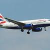 British Airways (BA) G-EUOF A319-131 [cn1590]