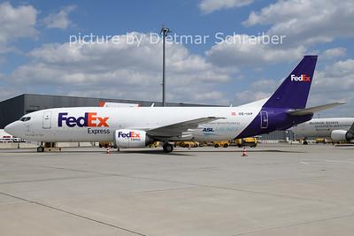 2021-04-23 OE-IAP Boeing 737-400 ASL AIrlines / Fedex