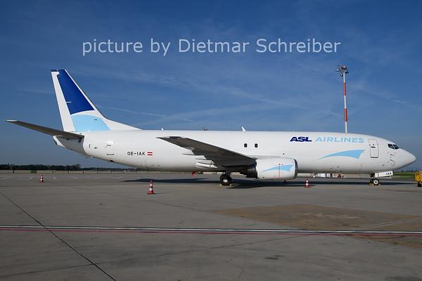 2021-08-13 OE-IAK Boeing 737-400 ASL Airlines