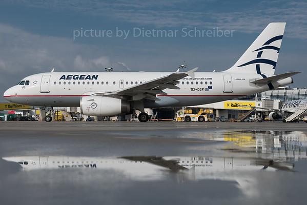 2015-10-20 SX-DGF Airbus A319 Aegean Airlines