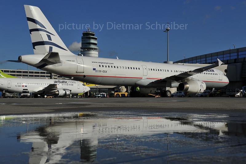 2012-01-03 SX-DGA Airbus A321 Aegean Airlines
